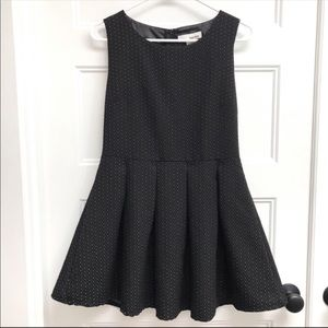 Sans Souci (Anthro) Pleated Fit and Flare Dress
